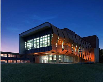 Immeuble exposition nuit 3D   3D Library   Scoop.it