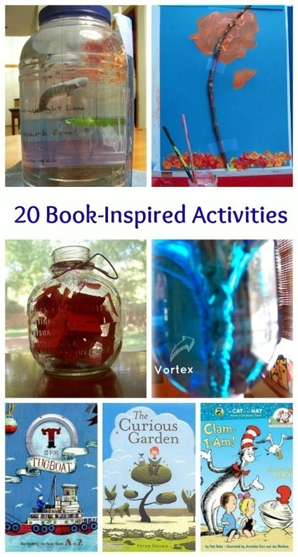 20 Kids Crafts & Activities Inspired by Books | Primary School Teaching | Scoop.it