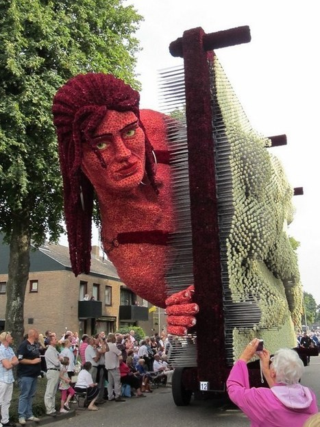 Parade of flowers - Triumph of Beauty and Art in Holland | Urban Life | Scoop.it