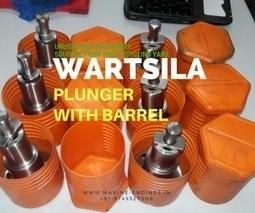 Plunger with Barrel for Wartsila Engine | Marine Engines Motors and generators | Scoop.it