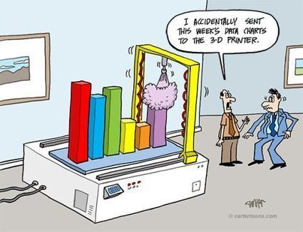 Cartoon: Data Visualization meets 3-D Printer   Web analytics, data quality & data governance   Scoop.it