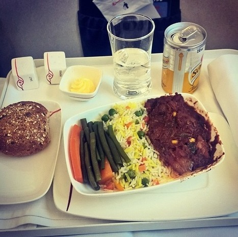 Airplane Food In Economy Vs. First Class On 20 Airlines | Edu's stuff | Scoop.it