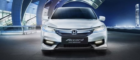Honda Accord Hybrid Launched in India at INR 37 lakhs | Maxabout Cars | Scoop.it