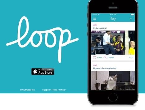Loop, una curiosa app de mensajería para intercambiar GIFs ... - Bitelia   Gifs   Scoop.it