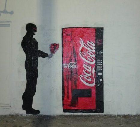Plastic Jesus, el genio que está revolucionando el arte callejero | El Mundo del Diseño Gráfico | Scoop.it