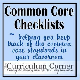 Common Core State Standards Checklists for the Classroom | Common Core State Standards Initiative | Scoop.it