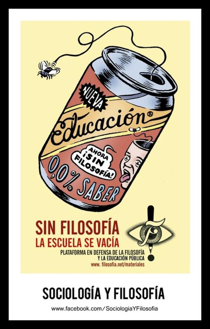 Sin filosofía la escuela se vacía. Tweet from @HerMarcuse | Partido Popular, una visión crítica | Scoop.it