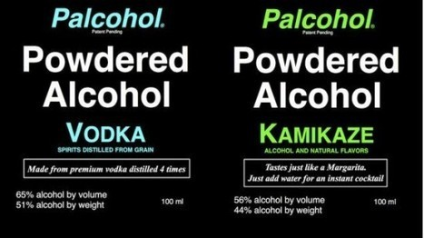 Get Ready for Palcohol, the Powdered Alcohol You Can Sprinkle in Drinks and on Food | Strange days indeed... | Scoop.it