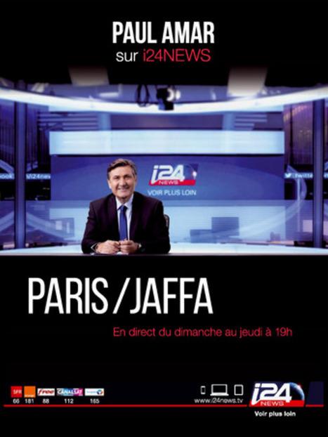 i24news : Paul Amar reprend l'antenne | DocPresseESJ | Scoop.it
