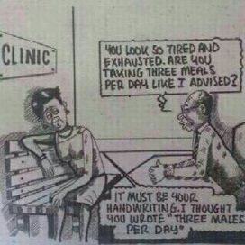 When You Mistake Doctors Writing - Naija / Nigeria Funny Videos   NFV   Scoop.it