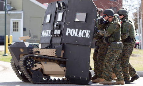 The militarization of America's police - The Week Magazine   The Rodriguez Law Group   Scoop.it