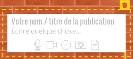 Sur #padlet maintenant on peut s'enregistrer Journée d'intégration - Qui es-tu ? Chaque élève enregistre une présentation de 1 min maximum | Français Langue étrangère | Scoop.it