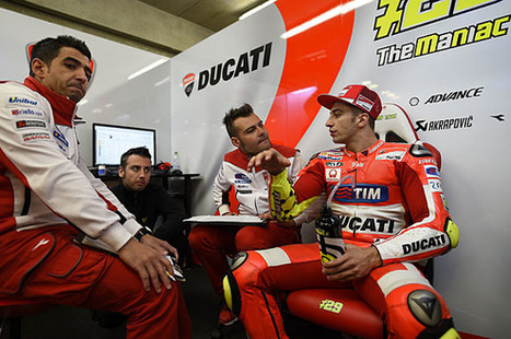 Ducati MotoGP rider Andrea Iannone discovers another arm injury | Ductalk Ducati News | Scoop.it