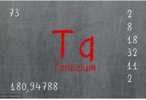 Características del tantalio | Ciencia y Tecnologia. Fundación Momo | Scoop.it