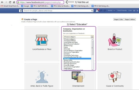 Guidelines for Setting Up a Facebook Page for Your School | iPads, MakerEd and More  in Education | Scoop.it