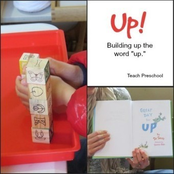 "Building up the word ""up!"" 