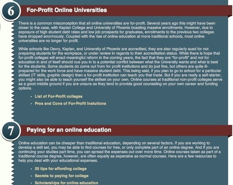 What Are Some Myths And Considerations For Online Education? #infographic | Just Open Education or MOOCs? | Scoop.it