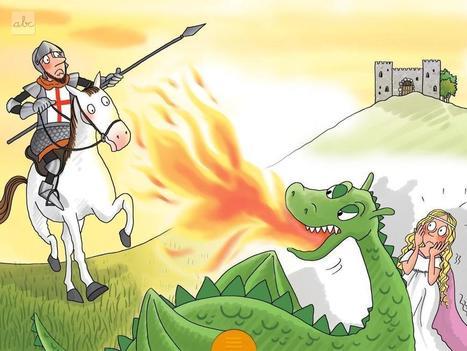 MINILLIÇONS DE LECTURA : Sant Jordi. Fem visualitzacions | contes | Scoop.it