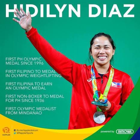 Hidilyn Diaz ends a 20 year medal drought for Philippines - Pinoyathletics.info | Other Sports | Scoop.it