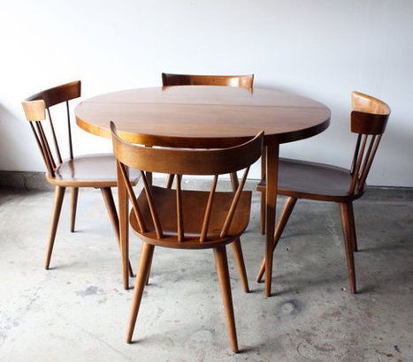 Paul Mccobb // Dining Set | Mise and Plus+ | Scoop.it