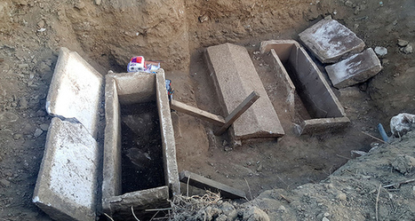 Gold found in 8th century BC sarcophagi discovered in Turkey's Çanakkale province | LVDVS CHIRONIS 3.0 | Scoop.it