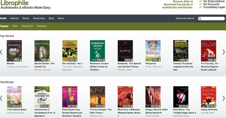 Free Audio Books and eBooks - Librophile | TEFL Tools | Scoop.it