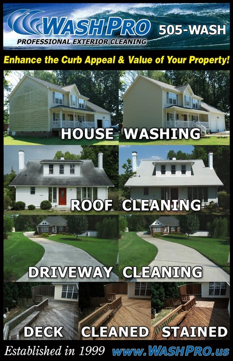 ROOF CLEANING - ADD THOUSANDS TO YOUR EQUITY! | Roof Cleaning | Scoop.it