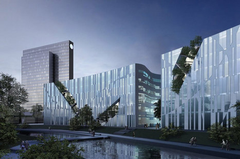 daniel libeskind: ko-bogen dusseldorf under construction - designboom | Architecture and Architectural Jobs | Scoop.it
