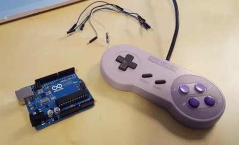 Arduino Blog – Turn your SNES gamepad into a USB controller | Raspberry Pi | Scoop.it