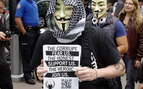 Hacktivism: Civil Disobedience Or Cyber Crime? | Anonymous | Scoop.it