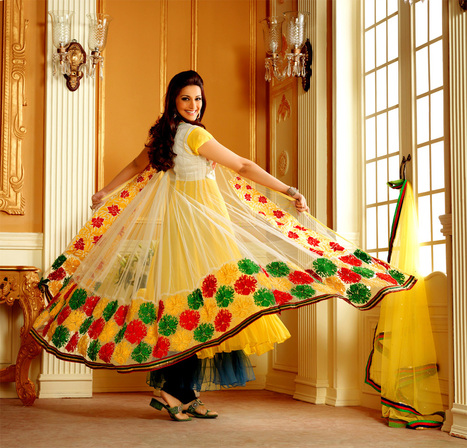 Anarkali Salwar Kameez Online | Latest Salwar Kameez | Scoop.it