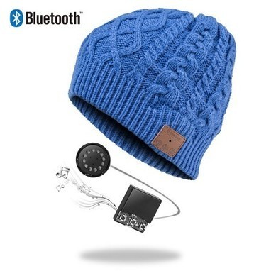 Vibejam twister knitting Bluetooth music beanie hat   Vibejam wireless and portable sound solutions   Scoop.it