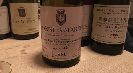 Domaine Comte Georges de Vogüé, Bonnes Mares 1986 | Pinot Post | Scoop.it