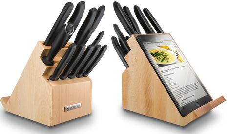 Bloque de cuchillos con soporte para tablet | Seo, Social Media Marketing | Scoop.it