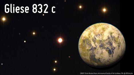 Une exoterre près de chez nous, autour de Gliese 832 ? | Beyond the cave wall | Scoop.it