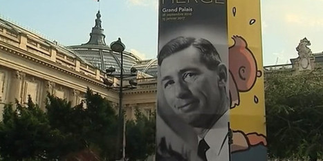 Hergé au Grand Palais : les secrets d'un génie de la BD | communication et culture | Scoop.it