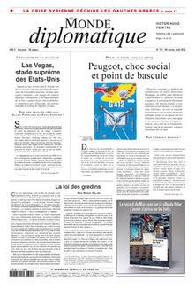 Peugeot, choc social et point de bascule, par Frédéric Lordon (Le Monde diplomatique) | Econopoli | Scoop.it