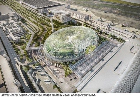 "Safdie Architects Design Glass ""Air Hub"" for Singapore Changi Airport 