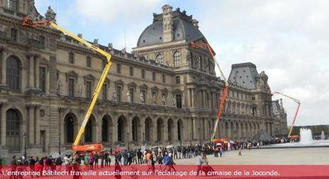 Ils éclairent le Louvre dans l'ombre | Picardie Economie - La Picardie dans les medias | Scoop.it