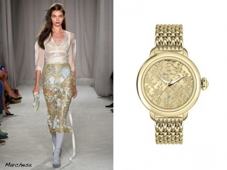 Glam Rock Watches to match the seasons trends - The LA Fashion magazine | Best of the Los Angeles Fashion | Scoop.it