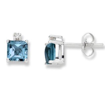 1/4 CT Diamond Stud Earrings 14k Gold (I1-I2   Online Jewellery Store in UK   Scoop.it