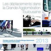 Toulouse - Les déplacements dans la grande agglomération toulousaine | Dernières publications des agences d'urbanisme | Scoop.it