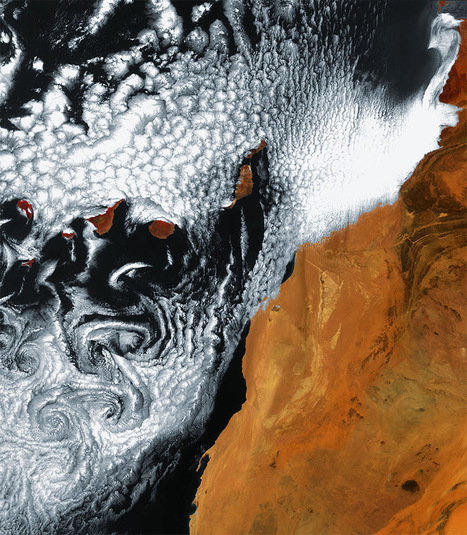 Observing the Earth: Incredible Satellite Photos of Earth from the European Space Agency | Colossal | Tenerife cool news | Scoop.it