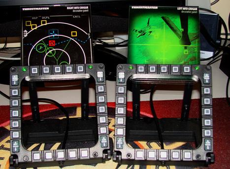 Test MFD Thrustmaster   Flight simulator   Scoop.it