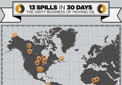 13 Spills in 30 Days | EcoWatch | Scoop.it