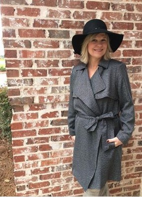 Everyone should own at least one TRENCH coat! This one is perfect for our weather! | Village Boutique | Scoop.it