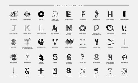 An Alphabet Designed By 45 Top Creatives Champions Art Education | visual data | Scoop.it