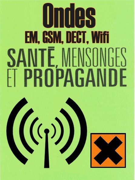 Ondes EM, GSM, DECT, Wifi ● #CQVC | MENU Santé Danger ! #CQVC | Scoop.it
