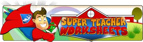 Super Teacher Worksheets | 30 Elementary Sites In 60 Minutes | Scoop.it