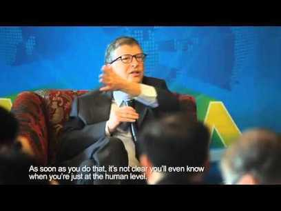 Bill Gates and Elon Musk interviewed by Baidu CEO Robin Li - YouTube | leapmind | Scoop.it
